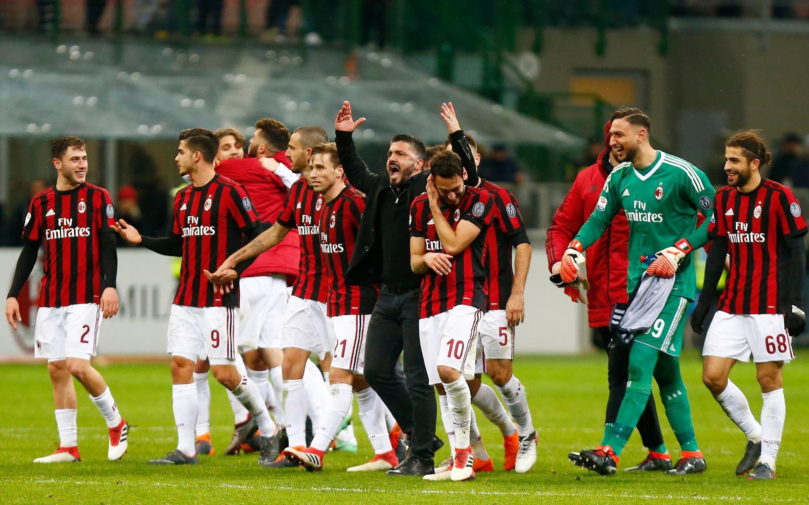 Ballottaggio Champions: Milan, la corsa all'Europa passa per il derby