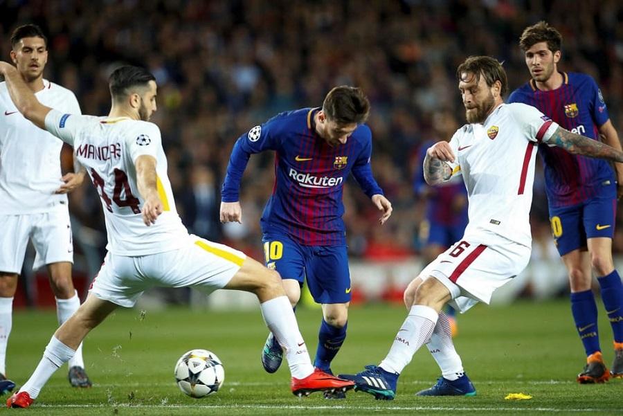 Roma al bivio decisivo, tra Barcellona e derby