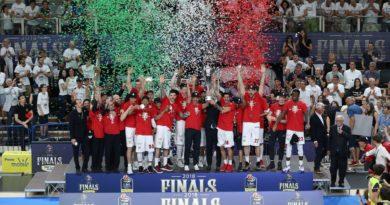 L'Olimpia Milano sul tetto d'Italia per la 28esima volta nella sua storia