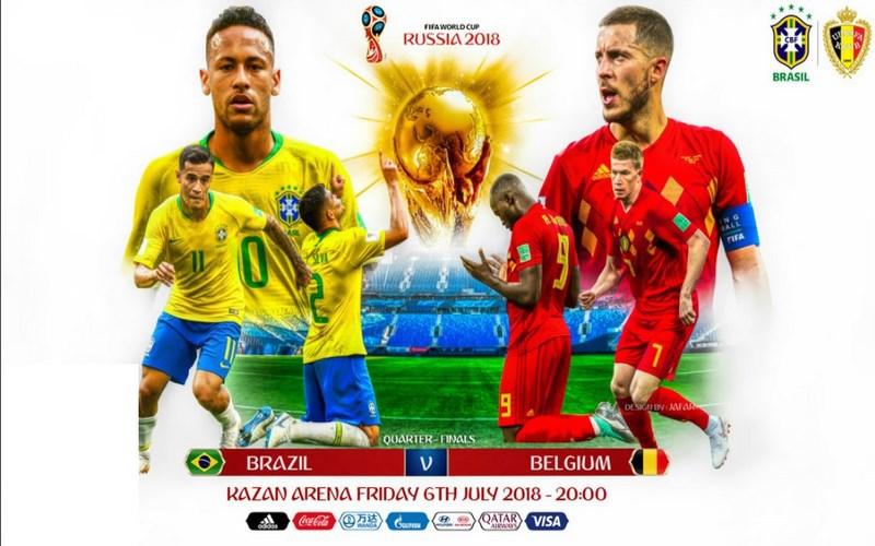 Brasile-Belgio, in palio un posto in paradiso