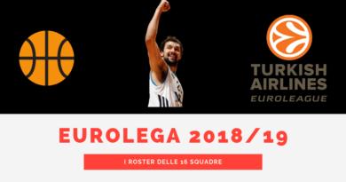 approfondimento coach - Eurolega 2018-19