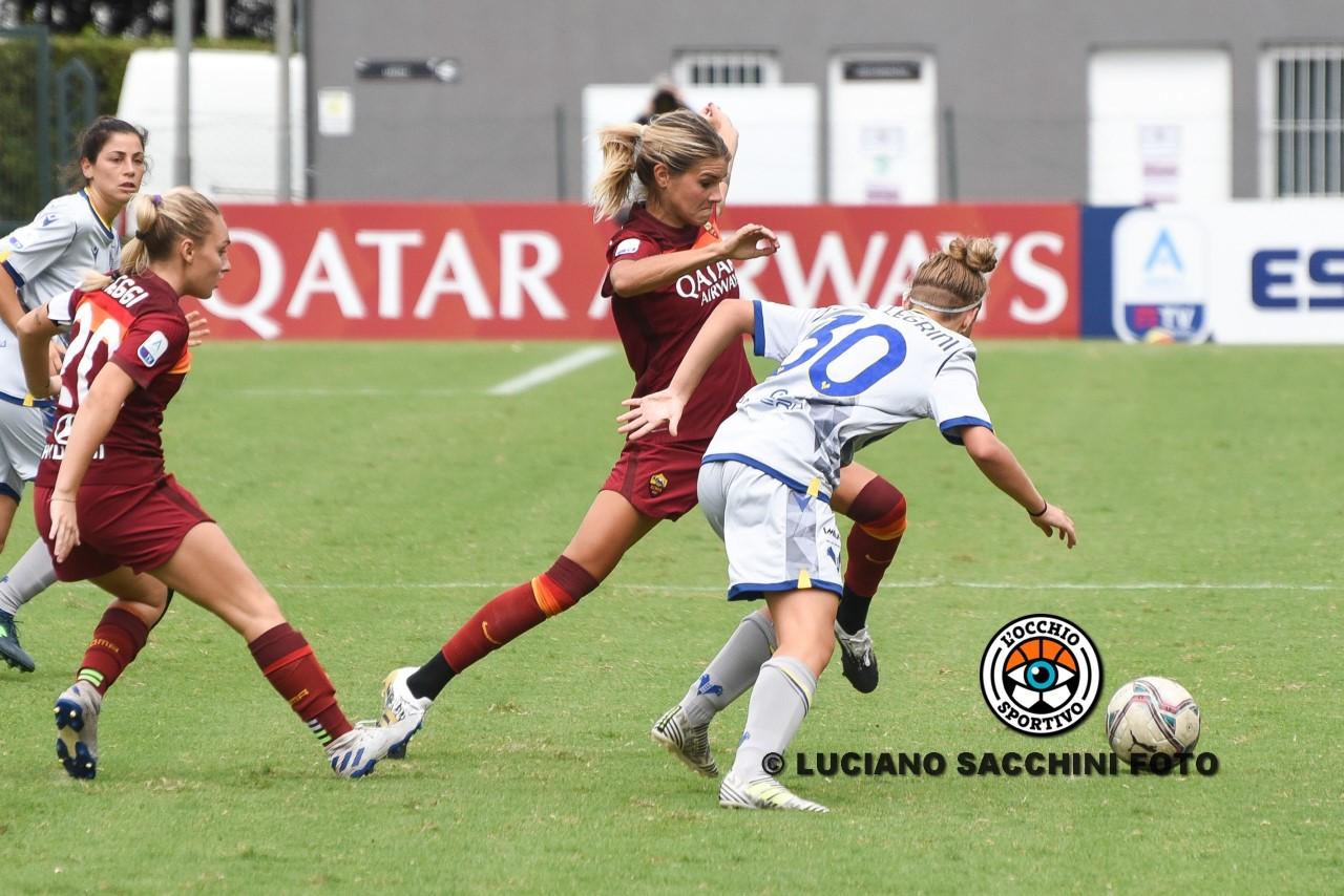 Juventus – Roma: un'altra sconfitta per le giallorosse