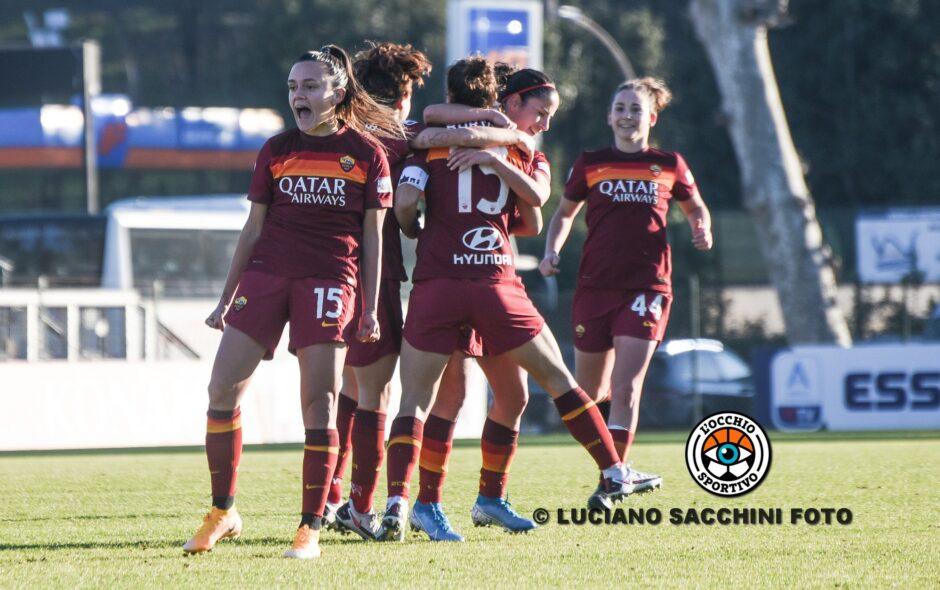 Andressa, Serturini e Bartoli firmano la vittoria in rimonta delle giallorosse