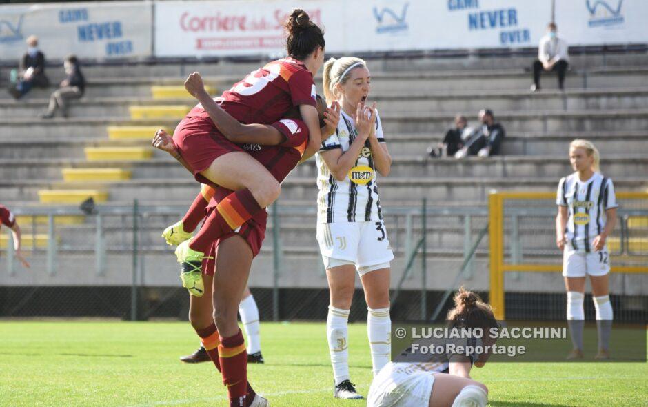 Serturini e Thomas regalano alla Roma il primo round di Coppa Italia