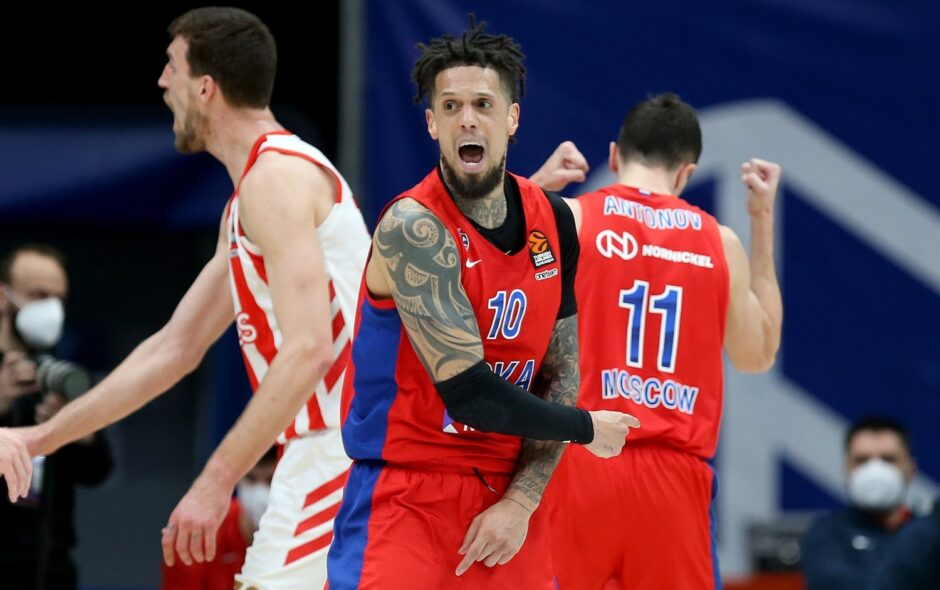Euroleague 2020/21 – Team Focus, CSKA Mosca: quanto peserà l'assenza di Mike James?