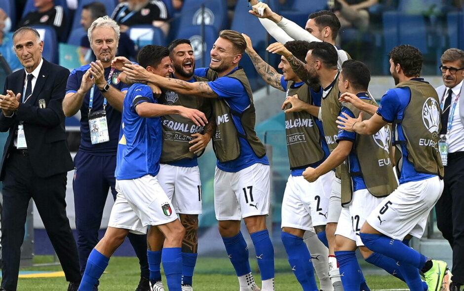 Euro2020: l'Italia supera anche il Galles e prenota gli ottavi