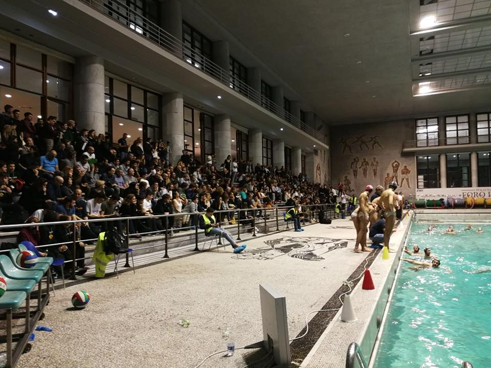 Derby pallanuoto Roma Vis Nova-Roma Nuoto
