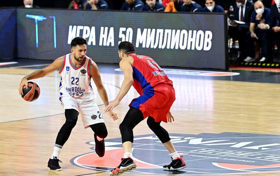 Euroleague Final Four 2021, l'Efes si fa rimontare ma alla fine batte il CSKA